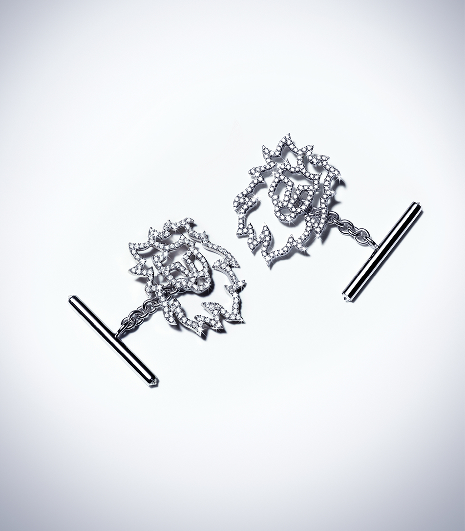 COURAGE – DIAMOND CUFFLINKS